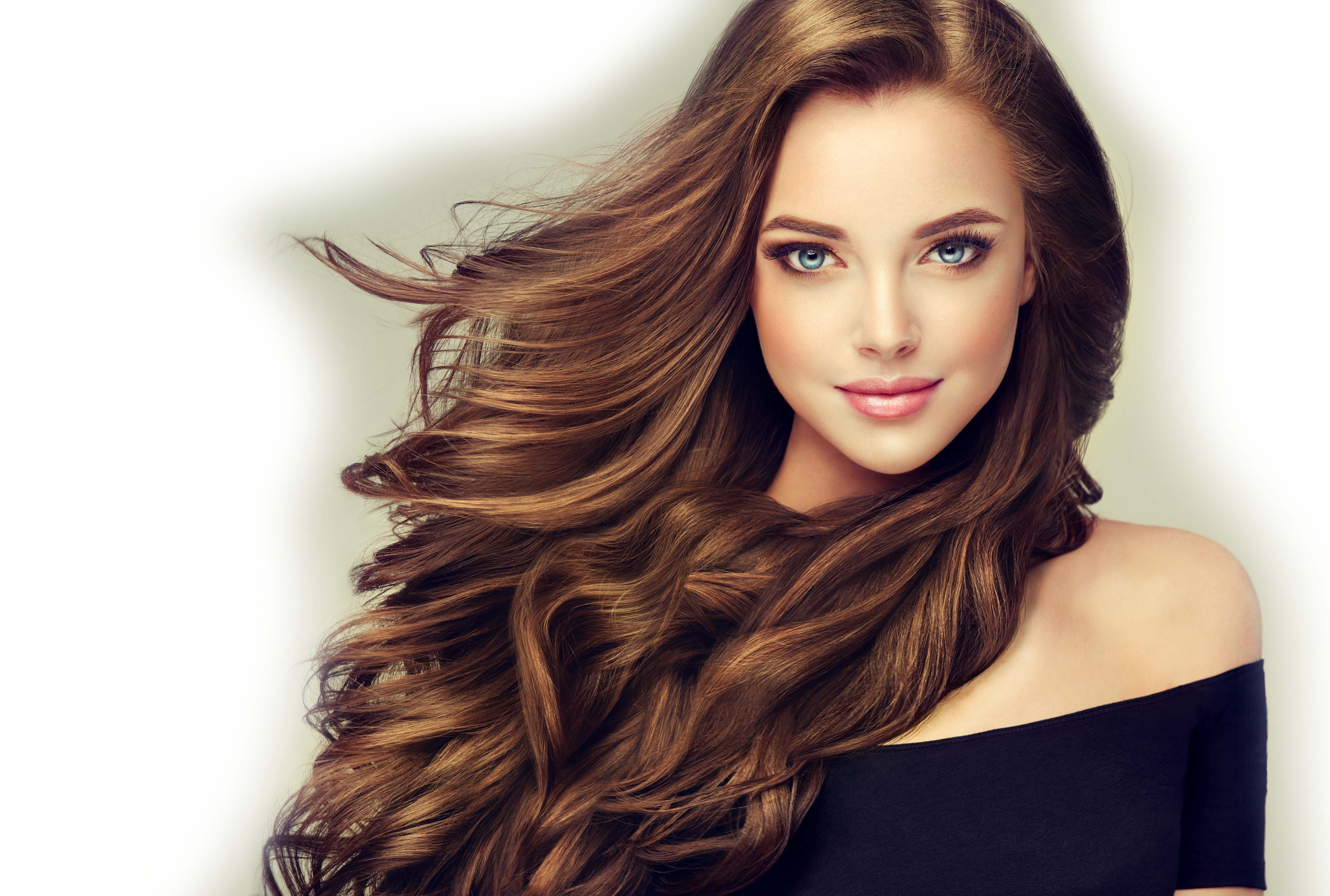 Kobieta fryzjerstwo